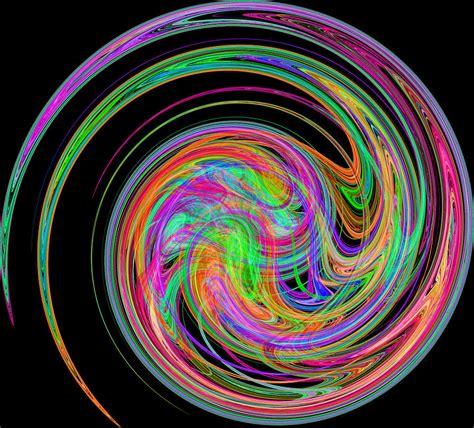 colorful swirls colorful swirls digital by malania hammer
