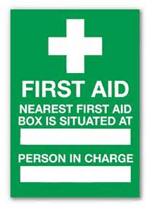 Health And Safety Arrangements Template by Aid Poster Health Safety Safety Services Direct