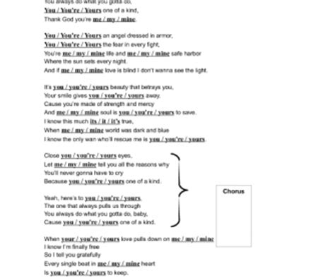 song worksheet your by michael bubl 233