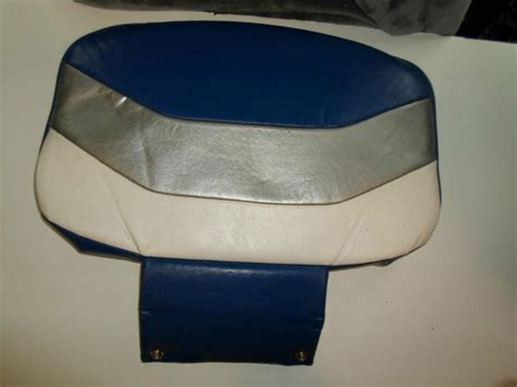 used boat cushions for sale purchase used boat seat back cushion motorcycle in blue