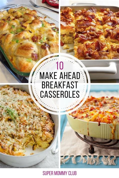 10 amazing make ahead breakfast casseroles you ll wish you d tried sooner crowd casserole and