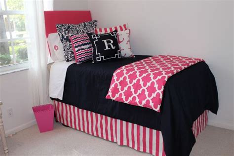 Pink And Navy Bedding by Nautical Navy Quatrefoil Designer Room