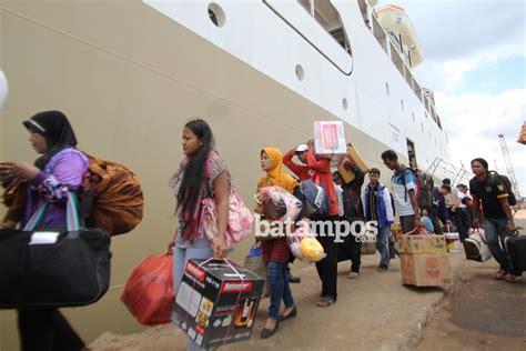 detiknews batam hari ini hari ini 2 134 pemudik tinggalkan batam dengan kapal pelni