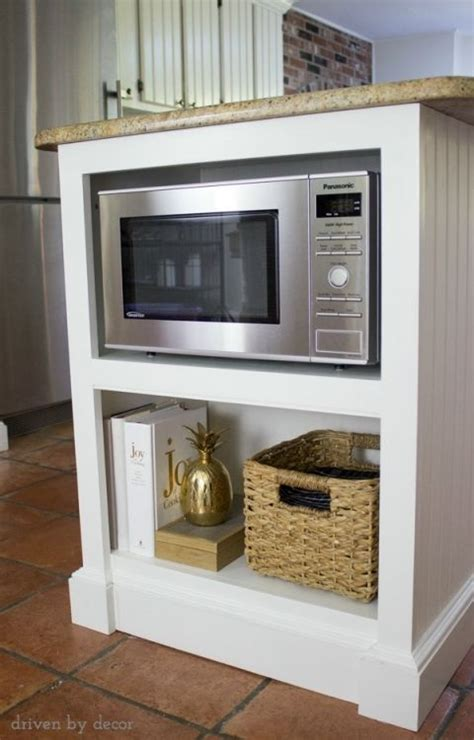 microwave in kitchen island best 25 microwave shelf ideas on pinterest shelf for