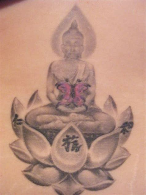 thai flower tattoo designs my tattoos lower back thai buddha