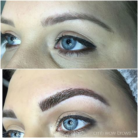 tattoo eyebrows natural 121 best cmh tayla made wow brows feather touch