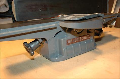 jointer woodworking tool delta homecraft jointer
