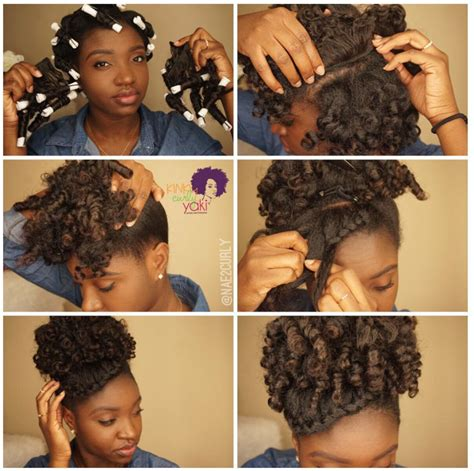 what rubber band for afro puff stylin hair pictorials nae2curly