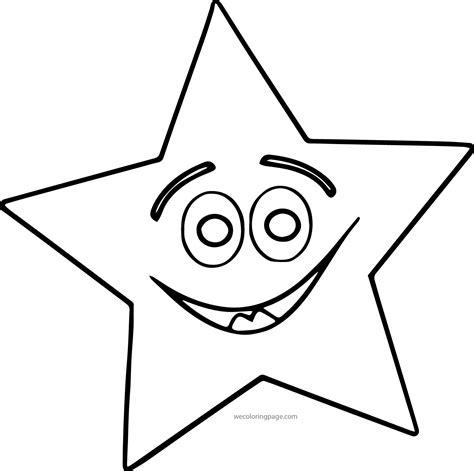 happy star coloring page happy star coloring page wecoloringpage