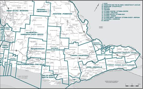 Find Ontario Southern Ontario Map With Cities My