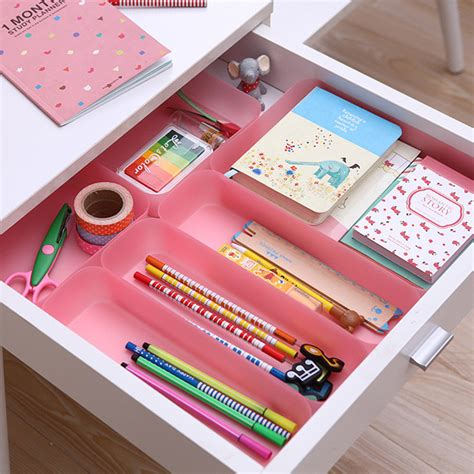 s m l plastic box drawer organizer japan style colorful