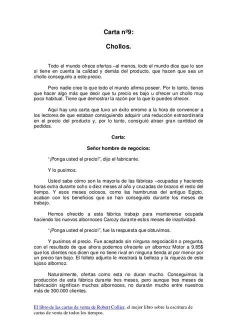 carta oferta venta propiedad cartas de venta de un millon de d 243 lares por robert collier