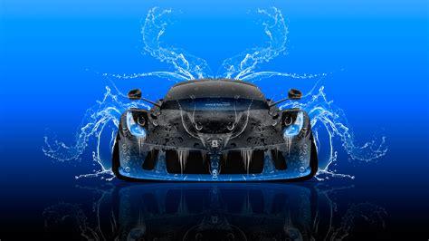 Tony Cars by Laferrari Front Water Car 2016 Wallpapers El