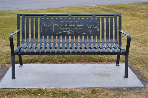 park bench memorial idea gallery premier memorial benches