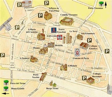 pavia mappa turistica pavia hotel le gronde