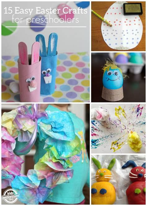 easy easter crafts 15 easy easter crafts for preschoolers toilets