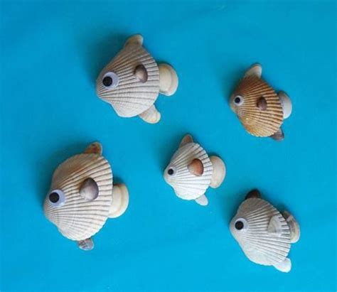 crafts with seashells for 10 seashells crafts to make at home kidsomania