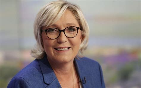 marine le pen marine le pen a hindrance to front national say french