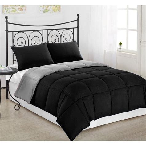 black down alternative comforter 1000 ideas about black comforter on pinterest cozy