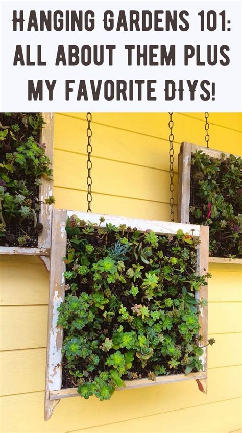 Hanging Garden Decor Decor Hacks Hanging Gardens Are A Beautiful Addition To Any Home S Outdoor Decor Learn