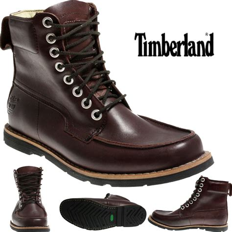 timberland 6 inch boots mens mens timberland 81515 earthkeeper 6 inch plum boots ebay