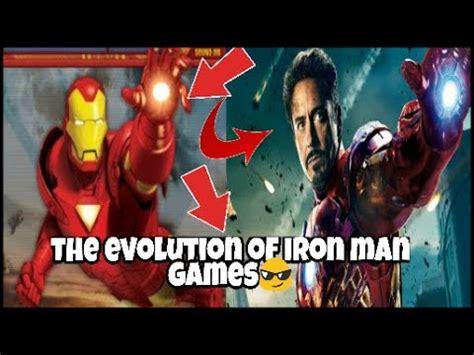 evolution iron man games minutes youtube