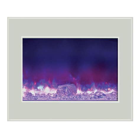 amantii zero clearance electric fireplace w