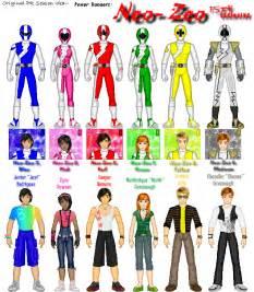power ranger names and colors tragically un hip