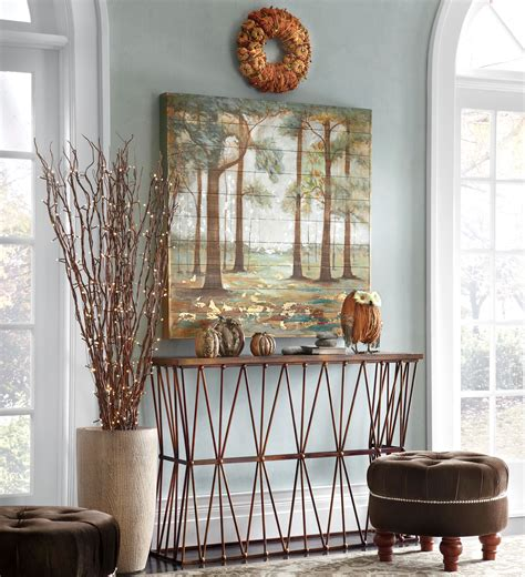 how to decorate a foyer autumn foyer decorating ideas