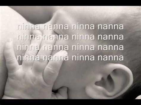ninna nanna baglioni testo canzoni con testo playlist