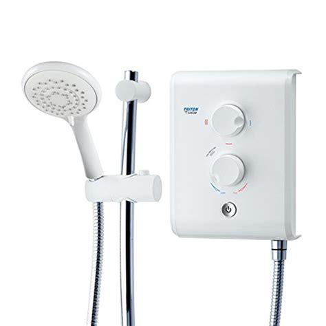 shower electric shower triton t80z 10 5kw white chrome