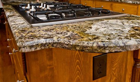 Beveled Countertop by Granite Edge 1 2 Quot Beveled Edge Eclectic Kitchen