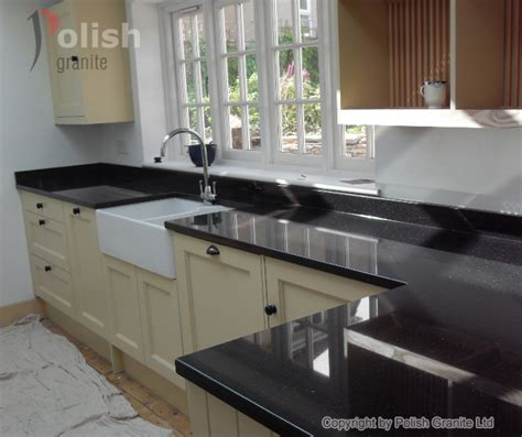 kitchen on granite worktops black granite and