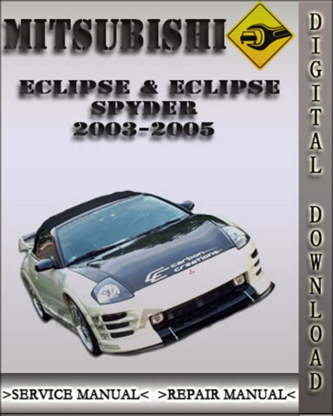 auto manual repair 2003 mitsubishi eclipse electronic throttle control service manual work repair manual 2004 mitsubishi eclipse service manual work repair manual