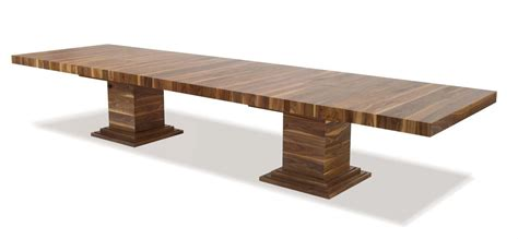 large wide walnut dining table large oak dining