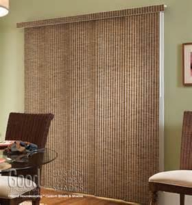 Sliding Panel Track Blinds Patio Doors Housekeeping Panel Track Weave Woven Stripe