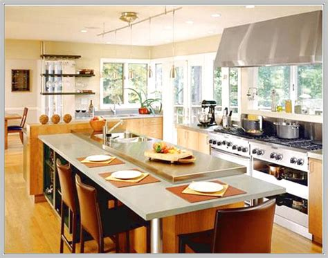 large kitchen island with seating small kitchen island seating storage home design ideas