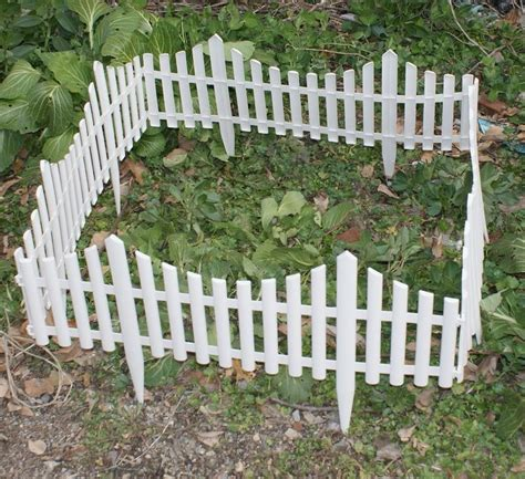 Plastic Garden Fencing Big Company The Planning Tips