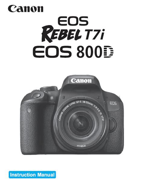 Canon Camera News 2019 Canon Eos Rebel T7i Eos 800d