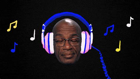 Headset Roker Roker Extrabass Rk20k Earphone Roker listening headphones gif by al roker find on giphy