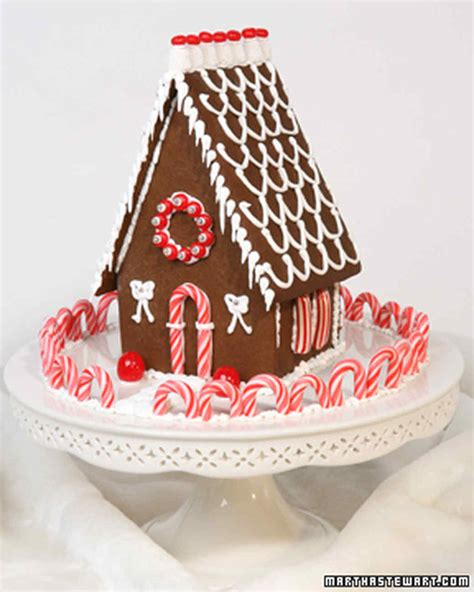 gingerbread house making kit gingerbread houses and no bake cookie cottages martha stewart