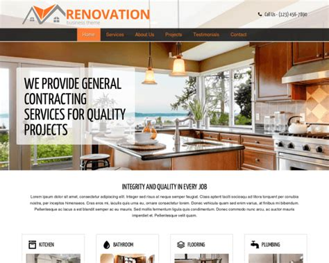 renovation theme renovation theme wp themes for contractors