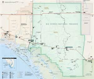 map of cypress maps big cypress national preserve u s national park