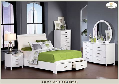 white storage bedroom set homelegance 1737w white lyric bedroom set with storage bed
