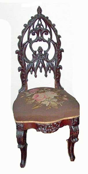 victorian gothic furniture gothic revival meets rococo revival rare victorian