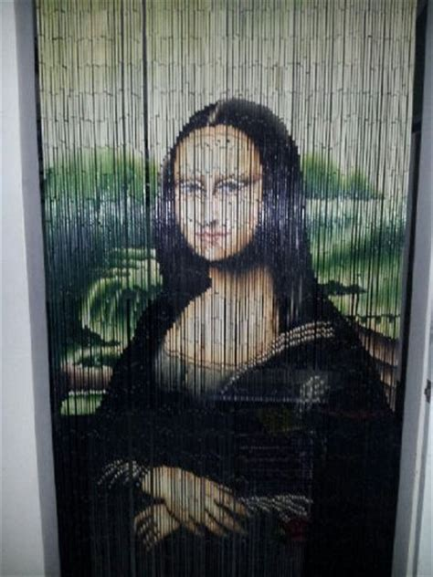 mona lisa beaded curtain mona lisa beaded curtain 125 strands hanging hardware