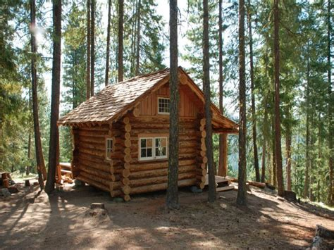 Plans For Small Cabin by Small Log Cabins With Lofts Small Log Cabin Floor Plans