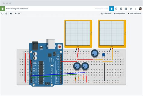 bring ideas to with free arduino simulator and