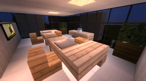 modern office building 3 interior minecraft project