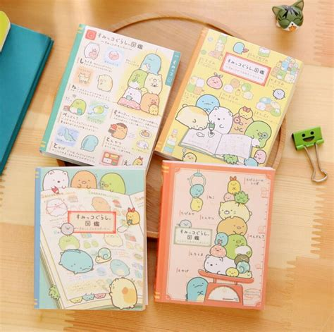 Sumikko Gurashi Sumikkogurashi Sticky Notes A sumikko gurashi 4 folding memo pad n times sticky notes memo notepad bookmark gift